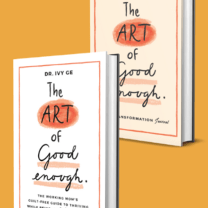 The Art of Good Enough: Guilt-Free Guide plus LIfe Transformation Journal Bundle image