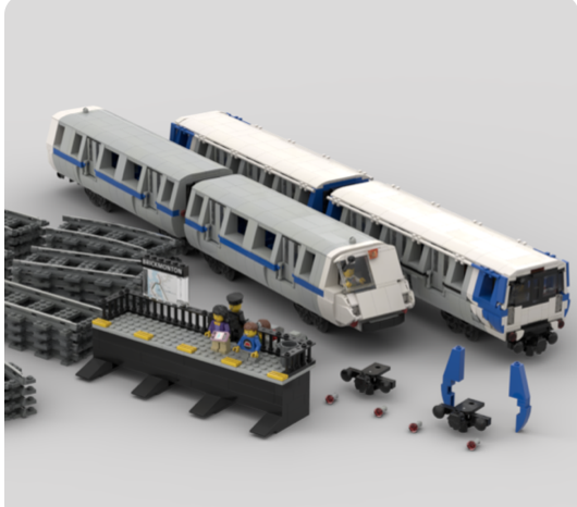 BART Lego Design